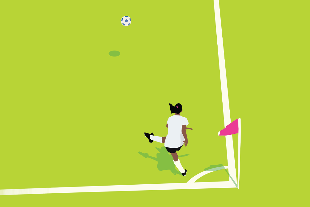 Soccer Illustration by James Coreas